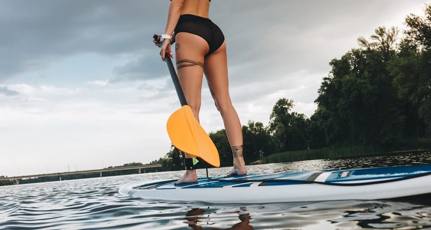 Beginner Paddle Board Features